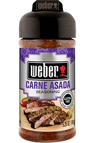 Weber Grill Seasoning Carne Asada, 5.25 Ounce (Best Carne Asada Fries In Las Vegas)