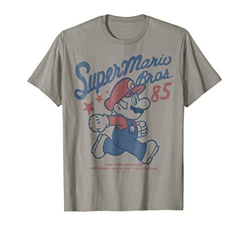 Nintendo Super Mario Brothers '85 Vintage Stars T-Shirt T-Shirt