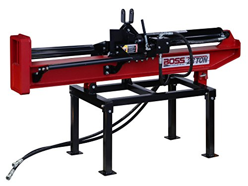 Review Boss Industrial 3PT28T25 3PT Horizontal/Vertical Log Splitter, 28 Ton