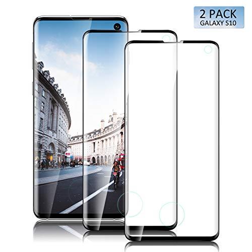 SGIN S10 Pellicola Protettiva per Samsung Galaxy S10 ,0.33mm 3D Copertura Completa Custodia,Durezza 9H, Anti-Bolla,Massima Protezione da Cadute e Urti