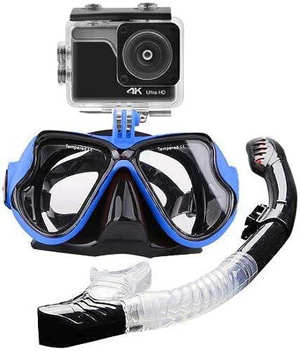G-Swin Lunettes de plongéeAvec caméra de Sport étanche 4KFacile Ajustable pour Les Adultes et Les Jeunes