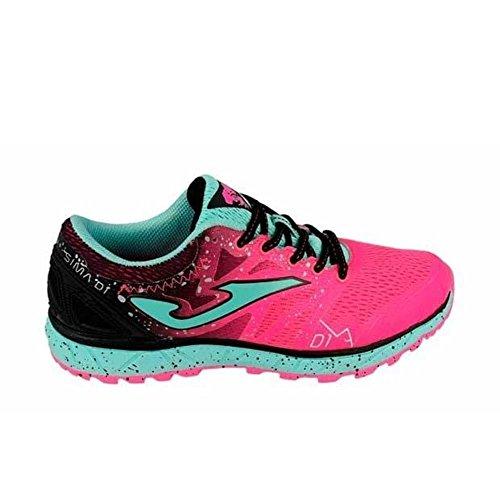 Joma Sima Lady, Zapatillas de Trail Running para Mujer, Rosa (Fucsia 810), 41 EU