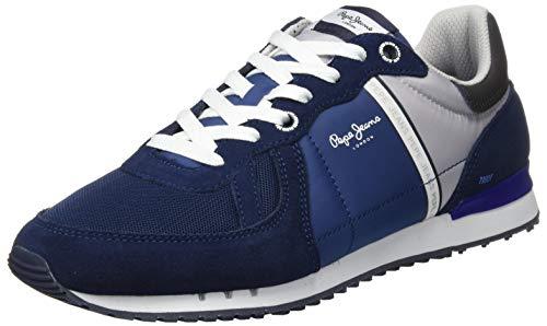 Pepe Jeans Tinker Zero ATH, Zapatillas Hombre, Azul Marino 585, 43 EU