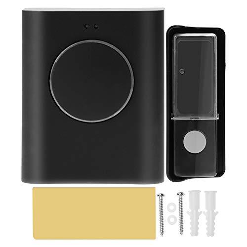 Mugast Draadloze intelligente deurbel deurbel met waterdichte toets met 16 soorten codes van 200 meter afstandsbediening met 10 aansluitingen, USB-interface voor thuisbeveiliging
