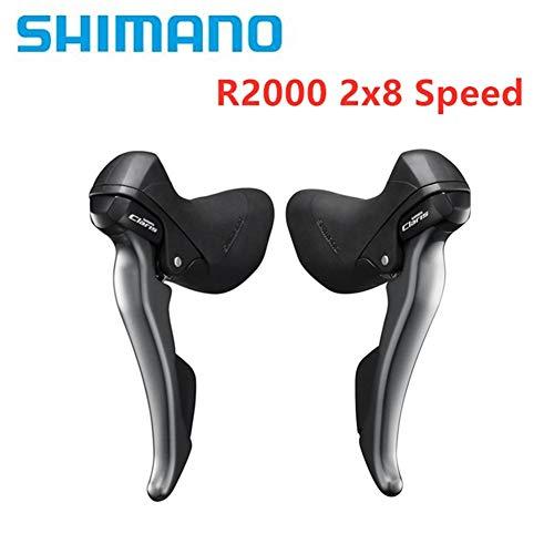 Shimano Claris R2000 2x8 Cambio De Velocidad/Juego De Palancas De Freno Accesorios De Bicicleta De Carretera Derecha Izquierda