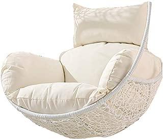 YQ WHJB Hanging Basket Chair Cushion,Swing Seat Cushioning,Removable Thicken Egg Hammock Cradle Cushion Outdoor Single Back Cushion Set-g