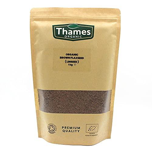 Organic Brown Flaxseed 1kg