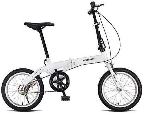 HFFFHA Bicicletas plegables, bicicletas for adultos, las mujeres de la Luz Trabajo Adulto Ultra Ligero Velocidad Variable portátil adulto pequeño viaje conveniencia Commaycle, adecuada for pilotos ava
