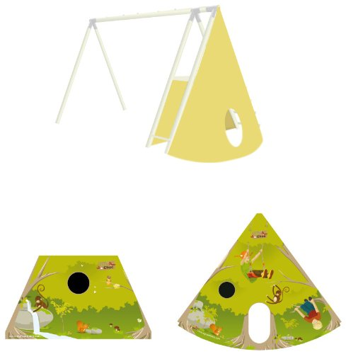 NAT & Shock 770476–Outdoor Game & Sports–Porch Tent Tipi–2.35m