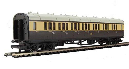 Railroad Gwr Composite Coach - Gwr Chocolate & Cream