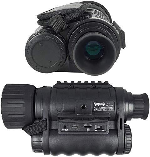 bestguarder Visor monocular digital de visión nocturna 6x50mm Cámara infrarroja de alta...