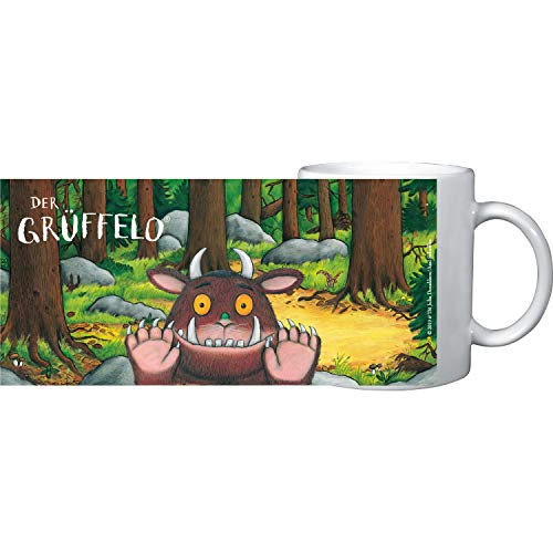 Grüffelo Tasse im Wald aus Keramik, 320 ml, 0126557, bunt, 320ml