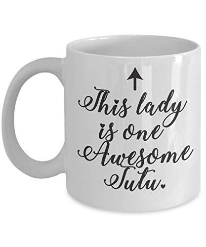 Kuku Wahine Coffee Mug Gift Idea for Hawaiian Tutu Grandmother - Worlds Best Awesome Mother's Grandparent's Day Coffee Cup (Mug)