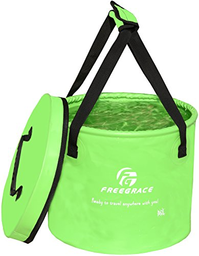 Freegrace Premium Collapsible Bucket -Multifunctional Folding Bucket...