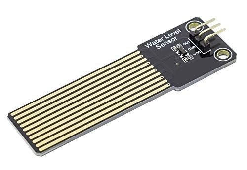 MissBirdler Füllstand Sensor Regensensor Goldkontakte Gold Coating - Wasser Hygrometer für Arduino Raspberry DIY Aquarium Teich
