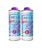 Resin Pro B07GJHZWM3 Art Pro - Resina transparente para artistas, 1,66 kg