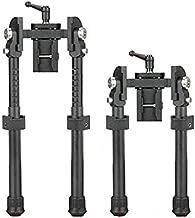 SPINA OPTICS Light Carbon Fiber Tactical Bipod Long Range Bipod for Hunting Rifle Hunt