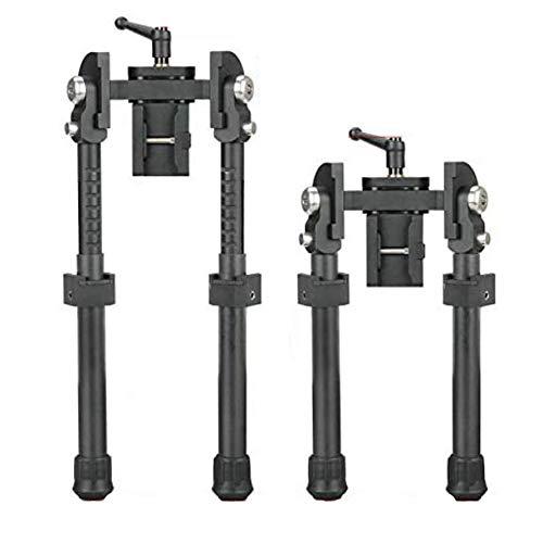 SPINA OPTICS Light Carbon Fiber Tactical Bipod Long Range Bipod for Hunting...