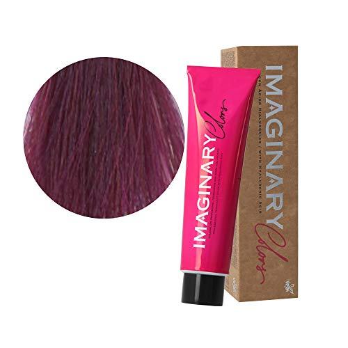 Tinte pelo mujer profesional, Coloración permanente, 100 ml (Rubio oscuro violeta caoba 6-52)