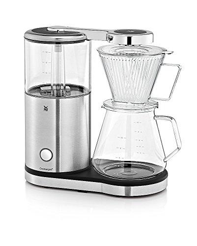 WMF AromaMaster Kaffeemaschine mit Glaskanne, Filterkaffee, 10 Tassen, Tropfstopp, Warmhalteplatte, Abschaltautomatik 1470 W