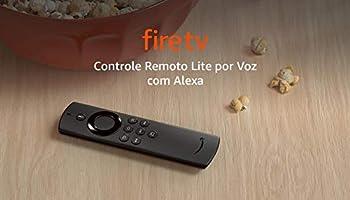 Controle Remoto Lite por Voz com Alexa | Compatível com Fire TV Stick Lite | Modelo 2020