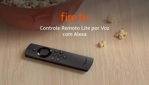 Controle Remoto Lite por Voz com Alexa (sem controles de TV) | Modelo 2020