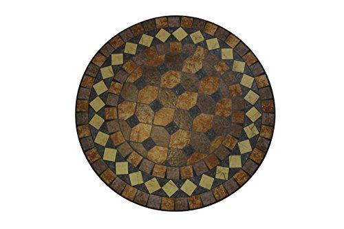 Florence tafel 61x71 cm bron, mozaïek