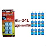 2pack New Auto Windshield Glass Washer Window Cleaner Safe Compact Effervescent Tablets Detergent