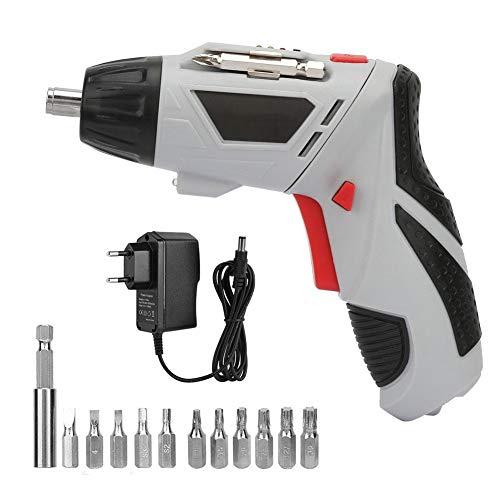 Juego de Destornillador Eléctrico de Mano Sin Cable y Taladro Recargable de 4.8 V Juego de Destornilladores(EU)