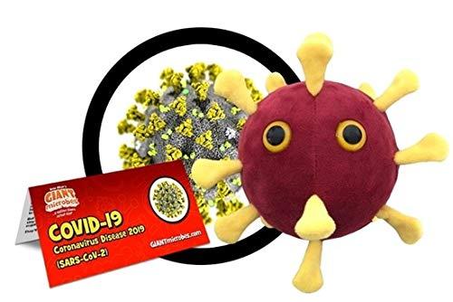 GIANT MICROBES Original Peluche CORONAVIRUS - COVID-19