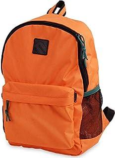 حقيبة ظهر مدرسية بوليستر ضد الماء للأطفال من مينترا - برتقالى