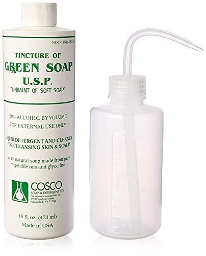 Cosco Green Soap 1 Pint + SQUEEZE BOTTLE 8oz