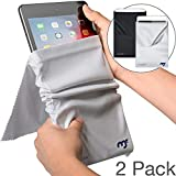 MagicFiber Microfiber iPad Sleeve Case (2 Pack) Light Protection and Screen Cleaning for iPad 9.7, 10.5, Pro,...