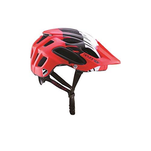 All Mountain MTB ENDURO Cycle Casco 7IDP M2 Gradient Nero Bianco
