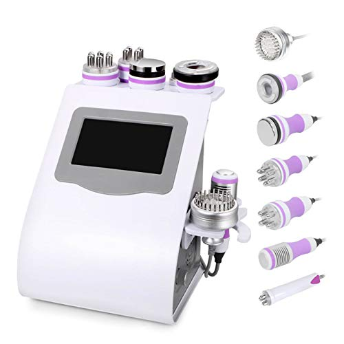 UNOISETION 8 IN 1 Beauty Machine, Fat Burning Body Shaping Massager Machine, Anti Cellulite, Face Lifting Skin Tightening Anti-Wrinkle, 110V