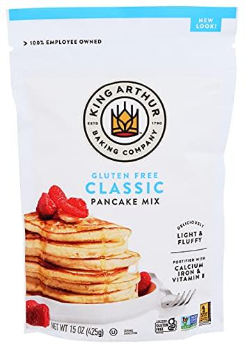 King Arthur Gluten-Free Pancake Mix,15 oz