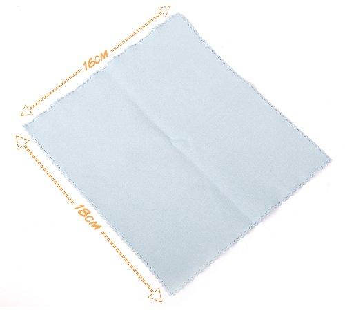 Panno Microfibra morbido blu DURAGADGET tutte superfici (Schermo inclusi) per MacBook Pro 13e 15pollici con schermo Retina