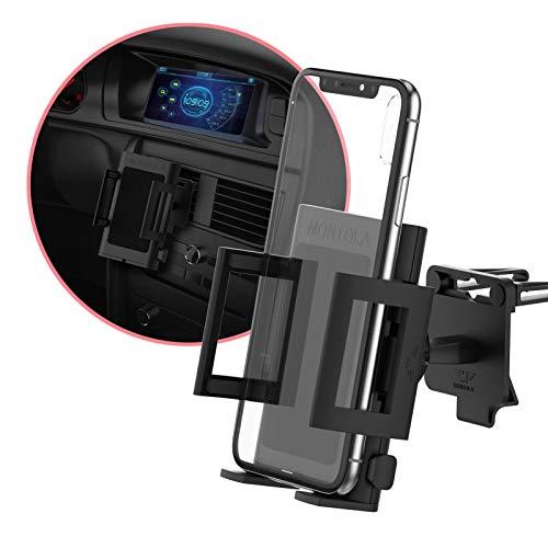 MONTOLA® Handyhalterung Auto Lüftung - Universal Handyhalterung Auto, Kfz Handyhalterung Lüftung für Handy und Smartphone