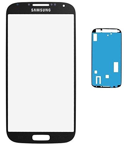 Pantalla frontal para Samsung Galaxy S4i9500i9505 LCD de cristal, Touch Screen, con lámina adhesiva, color negro