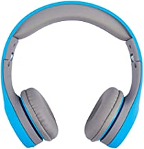 ATIVA On-Ear Headphones, Blue/Gray, WD-LGO1-BG