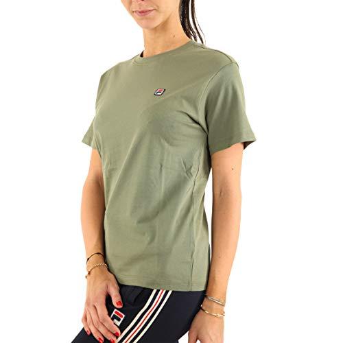 Fila NOVA Tee 682319 - Camiseta para mujer, color caqui verde S