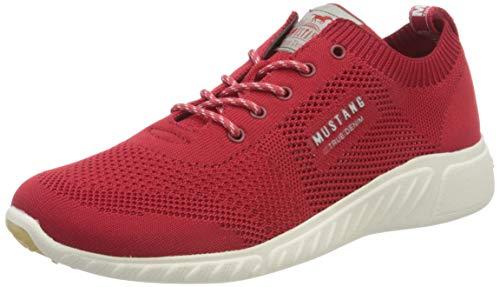 MUSTANG Damen 1315-307 Sneaker, Rot (Rot 5), 42 EU