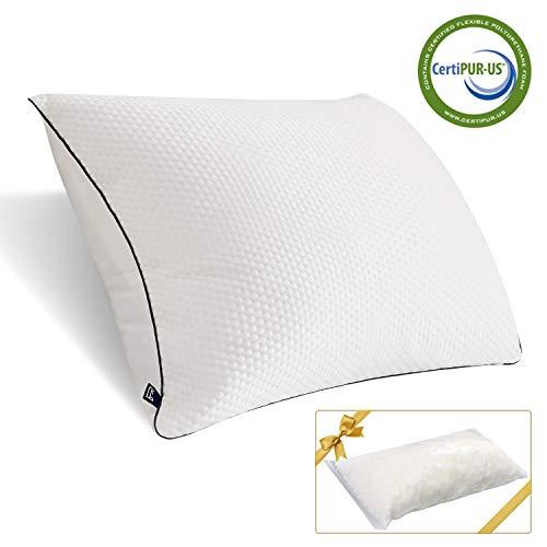 puissant Oreillers à mémoire BedStory, oreillers ergonomiques doux et résistants, oreillers…