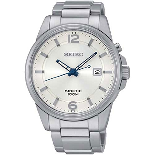 Seiko SKA663 Neo Sports Stainless Steel Silver Dial Men's Automatic Watch