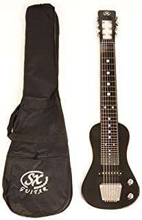 SX LAP 3 Black Lap Steel Guitar w/Free Carry Bag