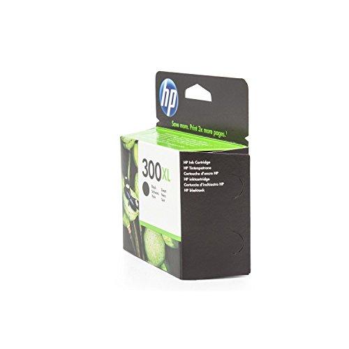 HP CC641EE / 300XL - Cartucho de tinta para impresora Envy 121 e-All-in-One Premium, color negro, 600 páginas, 12 ml