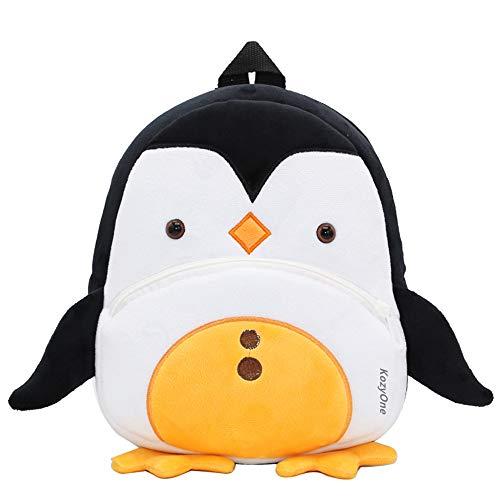 Mochila de Dibujos Animados para Animales, Bolsa para niños pequeños Bolsas Escolares Lindas para niños de 2-5 años, Regalo para niños de jardín de Infantes (Pingüino)