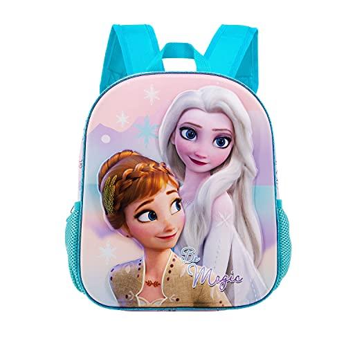 KARACTERMANIA Frozen 2 Magic-Mochila 3D (Pequeña), Multicolor