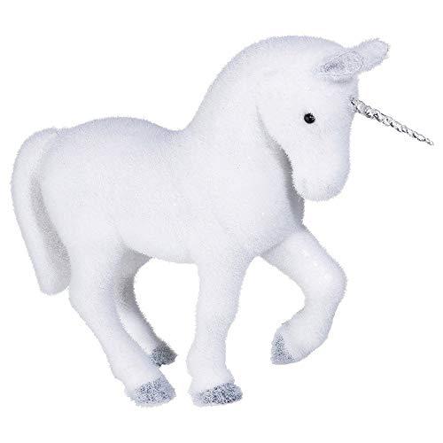 AC-Déco Figurine en Forme de Licorne - Blanc