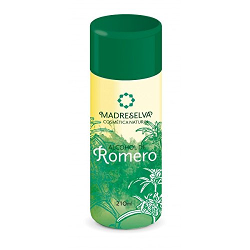 ALCOHOL DE ROMERO 500 ML DE MADRESELVA COSMÉTICA NATURAL